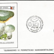 Sellos: ESPAÑA 1984 - VI EXPOSICION FILATELICA DE BASAURI - 1 SOBRE. Lote 165430970