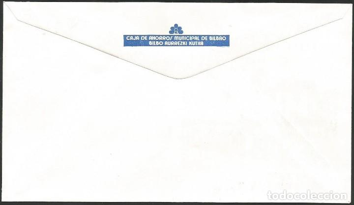 Sellos: ESPAÑA 1985 - VII EXPOSICION FILATELICA DE BASAURI - 1 SOBRE - Foto 2 - 165442546