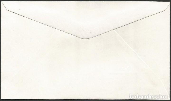 Sellos: ESPAÑA 1989 - XI EXPOSICION FILATELICA DE BASAURI - 1 SOBRE - Foto 2 - 165450390