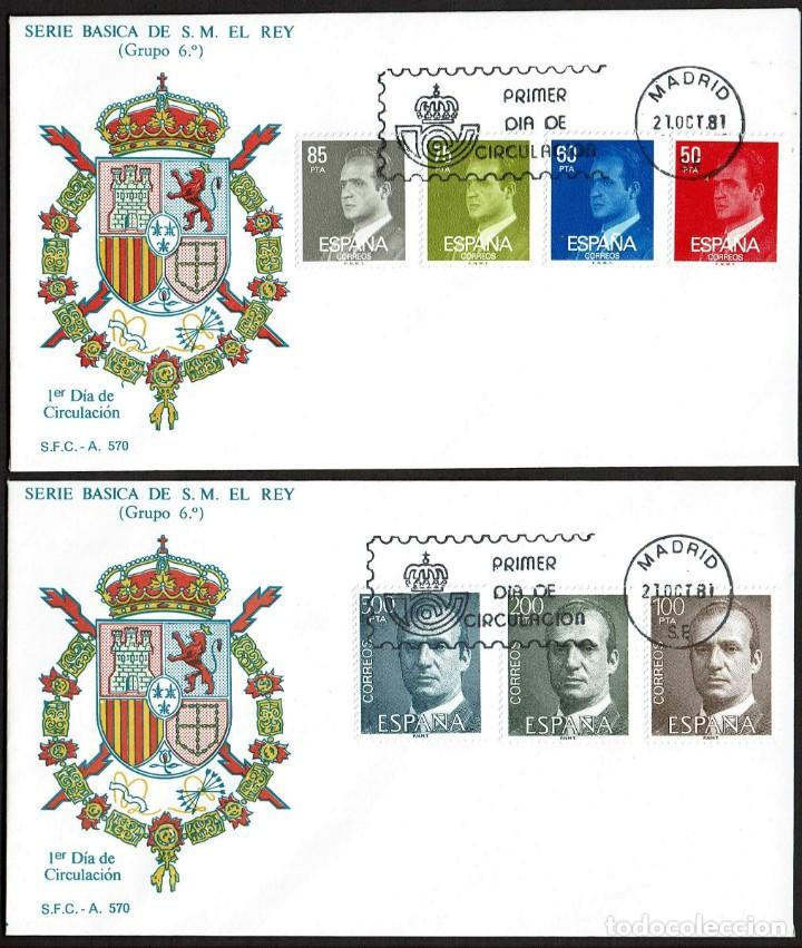 Sellos: SPD ESPAÑA 1981 - DON JUAN CARLOS I - Foto 2 - 165634226