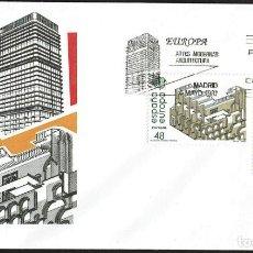 Sellos: SPD ESPAÑA 1987 - EUROPA. ARTES MODERNAS. ARQUITECTURA. Lote 165706166