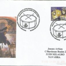 Sellos: FDC CC ON MAT PRIMER DIA RELIGION SEMANA SANTA EN ALBACETE. Lote 269272523