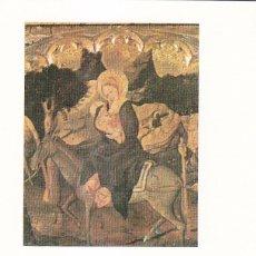 Sellos: RELIGION NAVIDAD REAL COLEGIATA COVARRUBIAS (BURGOS) 1982 RARO MATASELLOS TARJETA MOD 2 HUIDA EGIPTO. Lote 166305274