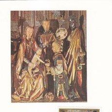 Sellos: RELIGION NAVIDAD REAL COLEGIATA, COVARRUBIAS (BURGOS) 1982 RARO MATASELLOS TARJETA MOD 1 REYES MAGOS. Lote 166305366