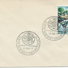 Sellos: 1977. MATARÓ. MATASELLOS/POSTMARK. III FIRA DEL SEGELL. HERÁLDICA/COAT OF ARMS. STAMP FAIR.. Lote 166548226
