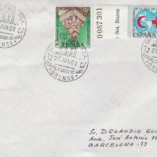 Sellos: AÑO 1969, ORENSE, FESTIVAL DE LA CANCION DEL MIÑO, MUSICA. Lote 166551302
