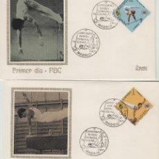 Sellos: 1971 ED 2034/5 SOBRE SPD X CAMPEONATO EUROPEO DE GIMNASIA MASCULINA ERROR MATASELLO FECHA NO 1 DIA. Lote 167967180