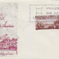 Sellos: EDIFIL 1819, FRANCISCO DE LA BODEGA, FORJADORES DE AMERICA 1967, PRIMER DIA DE 12-10-1967 ALFIL. Lote 167978924