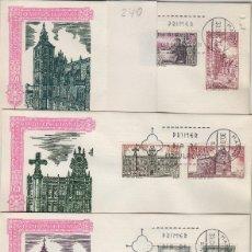 Francobolli: 1971 AÑO SANTO COMPOSTELANO ED 2063/70 . SOBRE ALFIL PRIMER DIA SPD , MADRID . Lote 168197780