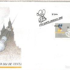 Selos: MADRID SPD FC AÑO SANTO JACOBEO ATM 3 DIGITOS KLUSSENDORF. Lote 208992950