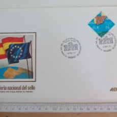 Sellos: XI FERIA NACIONAL DEL SELLO 1978 MADRID. ADHESION CONSEJO DE EUROPA.SOBRE PRIMER DIA DE CIRCULACIÓN. Lote 169237720