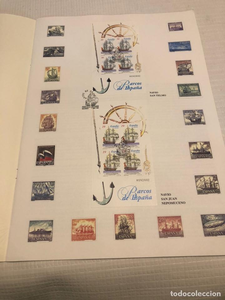 Sellos: Libro Correos 1995 - Barcos de Época 12 hojas 200 gr 30x42cm - Foto 2 - 169832096