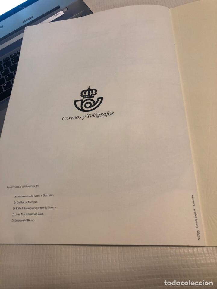 Sellos: Libro Correos 1995 - Barcos de Época 12 hojas 200 gr 30x42cm - Foto 4 - 169832096