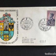 Sellos: SELLOS SPD LAS SIETE VILLAS DE ASTURIAS-EXPOSICION FILATELICA TEMA ASTURIANO 1966. Lote 170214804