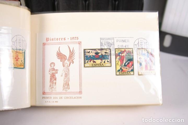 Sellos: Gran Colección de Sobres Primer Día - Enero de 1975 / Noviembre 2002 + Sobres Tamaño Grande - Foto 2 - 171497319