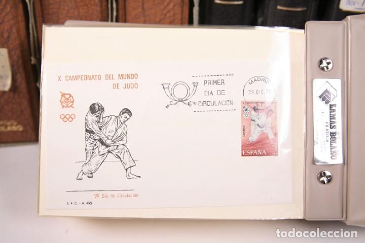 Sellos: Gran Colección de Sobres Primer Día - Enero de 1975 / Noviembre 2002 + Sobres Tamaño Grande - Foto 3 - 171497319