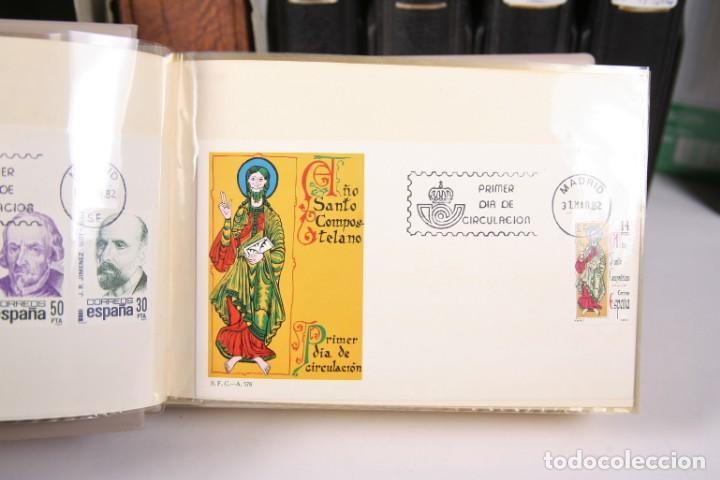 Sellos: Gran Colección de Sobres Primer Día - Enero de 1975 / Noviembre 2002 + Sobres Tamaño Grande - Foto 6 - 171497319