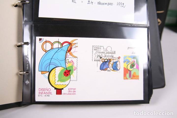 Sellos: Gran Colección de Sobres Primer Día - Enero de 1975 / Noviembre 2002 + Sobres Tamaño Grande - Foto 10 - 171497319