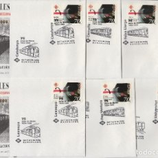 Sellos: 1999 BARCELONA - 75 /LXXV METRO , FERROCARRILES ED 3629 .SOBRE (7)PRIMER DIA MATASELLOS ESPECIALES. Lote 216964153