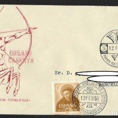 Sellos: SOBRE CIRCULADO SPD (MADRID, 1956), ALFIL: CORREO URGENTE - SERVICIO FILATÉLICO DE CORREOS. Lote 176065799