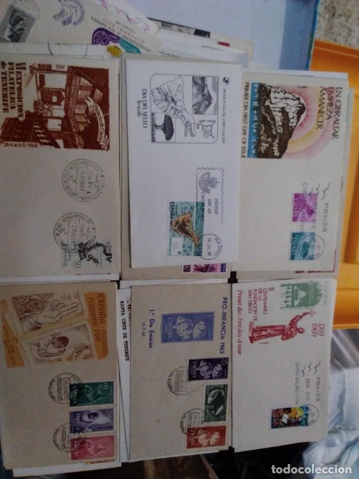Sellos: Colección de 70 sobres variados diferentes tematicas - Foto 4 - 177373324