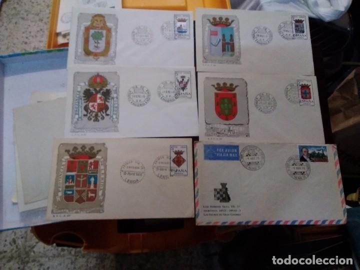 Sellos: Colección de 70 sobres variados diferentes tematicas - Foto 12 - 177373324