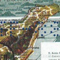 Sellos: PRIMERA PERFORACION CONMEMORATIVA - MATASELLOS EXPOFIL VII - PUERTO DE LA CRUZ -1988. Lote 177670002