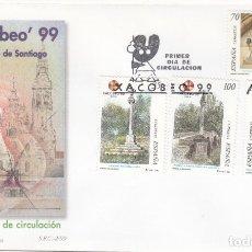 Sellos: SPD - SOBRE PRIMER DIA XACOBEO 99 CAMINO DE SANTIAGO - 1999. Lote 178295133