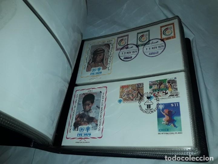 Sellos: Magnifica colección de 60 sobres IYC Año Internacional Del Niño año 1979 - Foto 4 - 178365343