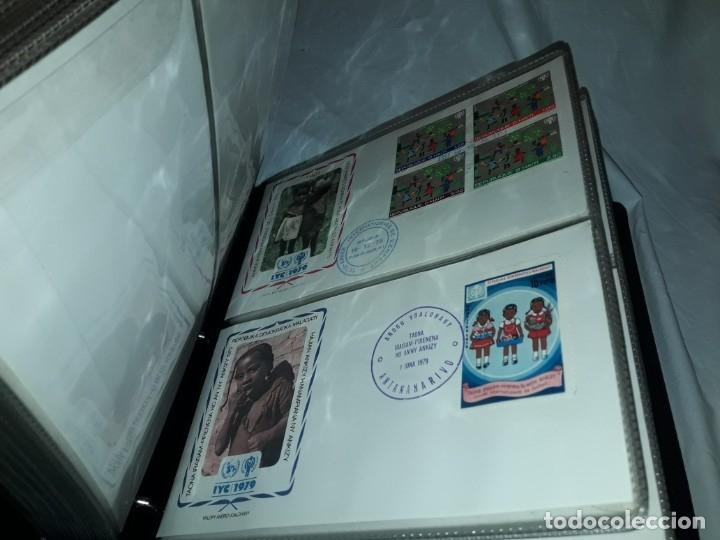 Sellos: Magnifica colección de 60 sobres IYC Año Internacional Del Niño año 1979 - Foto 7 - 178365343