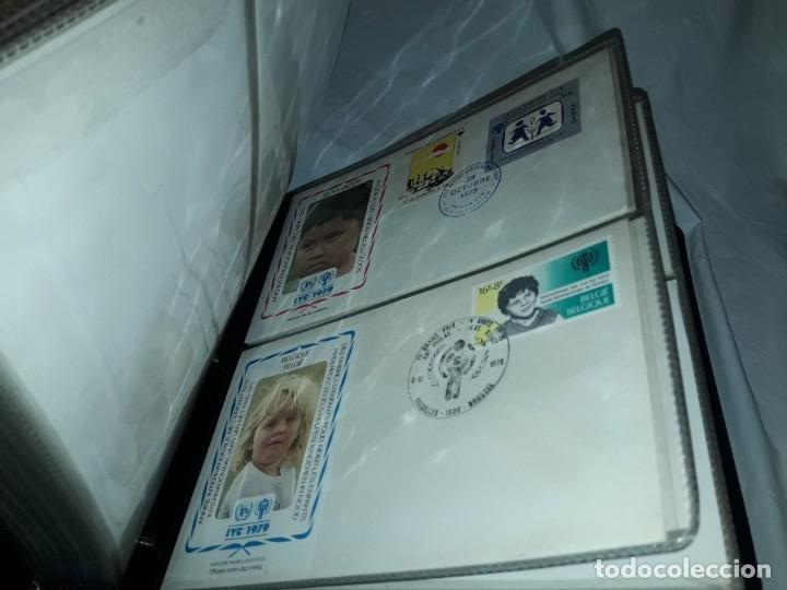 Sellos: Magnifica colección de 60 sobres IYC Año Internacional Del Niño año 1979 - Foto 8 - 178365343