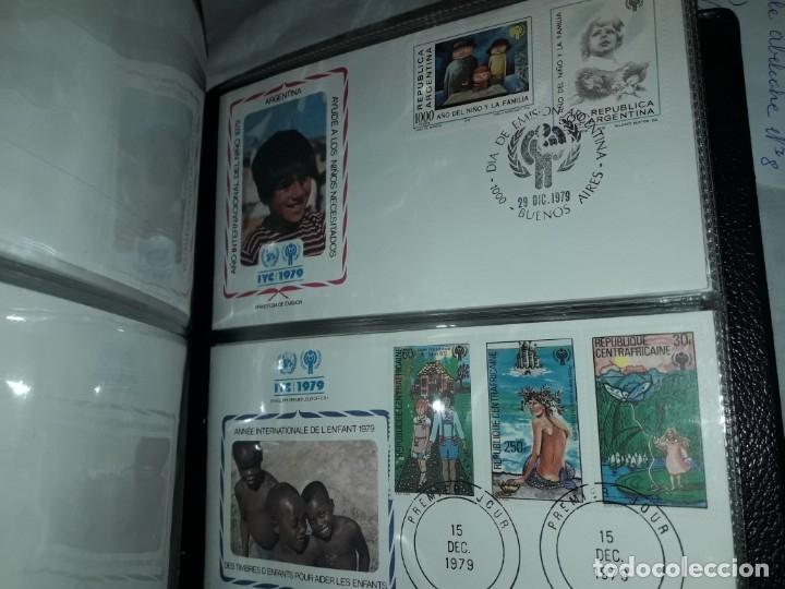 Sellos: Magnifica colección de 60 sobres IYC Año Internacional Del Niño año 1979 - Foto 10 - 178365343