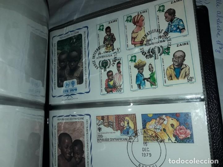 Sellos: Magnifica colección de 60 sobres IYC Año Internacional Del Niño año 1979 - Foto 11 - 178365343