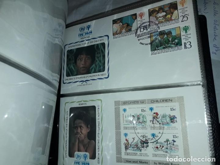 Sellos: Magnifica colección de 60 sobres IYC Año Internacional Del Niño año 1979 - Foto 12 - 178365343