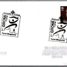 Sellos: MATASELLOS ANTORCHA OLIMPICA. GIRONA 1992. Lote 179029985