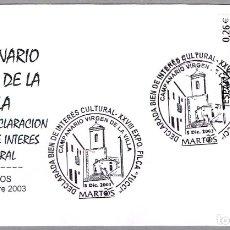 Sellos: MATASELLOS CAMPANARIO VIRGEN DE LA VILLA. MARTOS, JAEN, ANDALUCIA, 2003. Lote 179316062