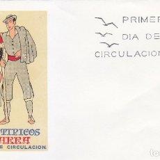 Sellos: TRAJE DE NAVARRA TRAJES TIPICOS ESPAÑOLES 1969 (EDIFIL 1907) EN SOBRE PRIMER DIA SERVICIO FILATELICO. Lote 179319563
