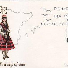 Sellos: TRAJE DE ORENSE TRAJES TIPICOS ESPAÑOLES 1969 (EDIFIL 1908) EN SOBRE PRIMER DIA DE FLASH.. Lote 179320730