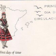 Sellos: TRAJE DE ORENSE TRAJES TIPICOS ESPAÑOLES 1969 (EDIFIL 1908) EN SOBRE PRIMER DIA DE ALFIL.. Lote 179321033