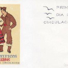 Sellos: TRAJE DE ORENSE TRAJES TIPICOS ESPAÑOLES 1969 (EDIFIL 1908) EN SOBRE PRIMER DIA SERVICIO FILATELICO.. Lote 179321268