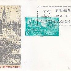 Sellos: CONFERENCIA INTERPARLAMENTARIA PALMA MALLORCA BALEARES 1967 (EDIFIL 1789 SPD SERVICIO FILATELICO MPM. Lote 179555305
