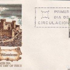 Sellos: SOBRE SPD (MADRID 1968), ALFIL: VILLASOBROSO - EL CASTILLO DE SOBROSO. Lote 180112816