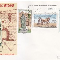 Sellos: BIMILENARIO DE LA FUNDACION DE CACERES 1967 (EDIFIL 1827/29) EN SPD DEL SERVICIO FILATELICO. MPM.. Lote 180198750
