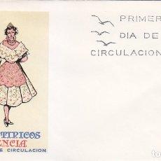 Sellos: TRAJE DE VALENCIA TRAJES TIPICOS ESPAÑOLES 1971 (EDIFIL 2014) EN SPD DEL SFC MATASELLOS MADRID.. Lote 180264856