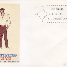 Sellos: TRAJE DE VIZCAYA TRAJES TIPICOS ESPAÑOLES 1971 (EDIFIL 2016) EN SPD DEL SFC MATASELLOS MADRID.. Lote 180267217