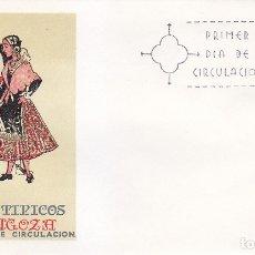 Sellos: TRAJE DE ZARAGOZA TRAJES TIPICOS ESPAÑOLES 1971 (EDIFIL 2018) EN SPD DEL SFC MATASELLOS MADRID.. Lote 180274182