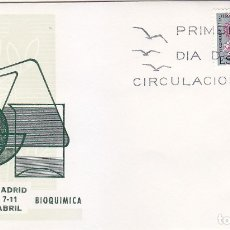Sellos: QUIMICA BIOQUIMICA VI CONGRESO EUROPEO 1969 (EDIFIL 1920) EN SOBRE PRIMER DIA DE ALFIL RARO ASI. MPM. Lote 180898817
