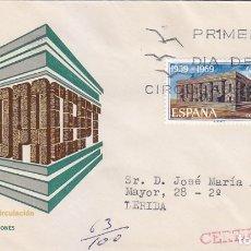 Sellos: EUROPA CEPT 1969 (EDIFIL 1921) EN SOBRE PRIMER DIA CIRCULADO DE MS. BONITO Y RARO ASI.. Lote 180899435