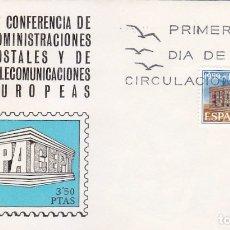 Sellos: EUROPA CEPT 1969 (EDIFIL 1921) EN SOBRE PRIMER DIA DE ALFIL. BONITO Y RARO ASI. MPM.. Lote 180899525