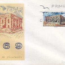Sellos: EUROPA CEPT 1969 (EDIFIL 1921) EN SOBRE PRIMER DIA DEL SERVICIO FILATELICO. MPM.. Lote 180899635